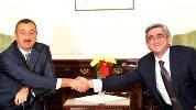 Президенты Азербайджана и Армении