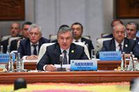 Выступление Президента РУз Мирзиёева на саммите ШОС 10.05.2018г.